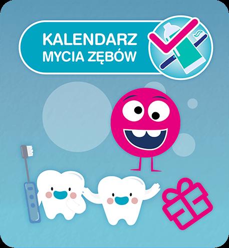 Kalendarz mycia zębów