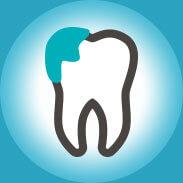 nawisające wypełnienia wobrębie zębów
