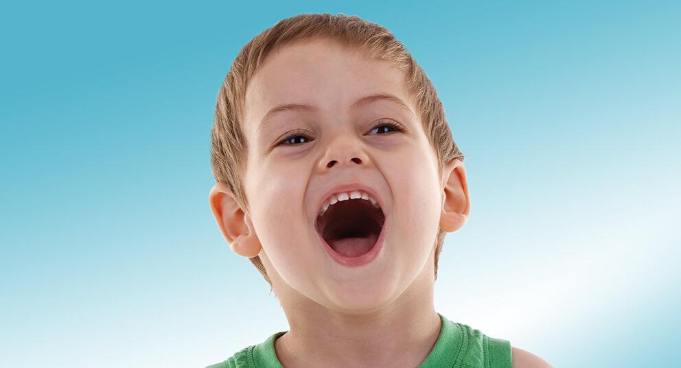 Zabiegi higieniczne jamy ustnej dziecka