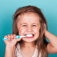 Higiena jamy ustnej od 2 do 5 roku życia dziecka