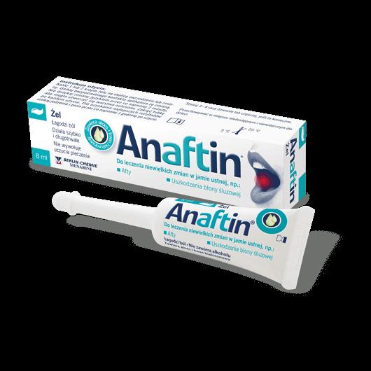 Jak używać Anaftin® Żel?