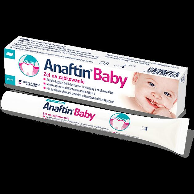 Żel na ząbkowanie Anaftin® Baby